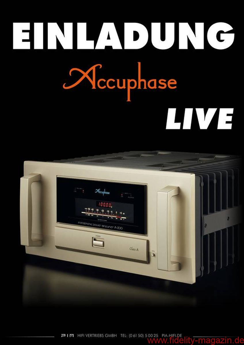 accuphase live bei msp hifi studio in k ln fidelity online. Black Bedroom Furniture Sets. Home Design Ideas