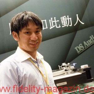 """Tetsuaki """"Aki"""" Aoyagi von DS Audio, Japan"""