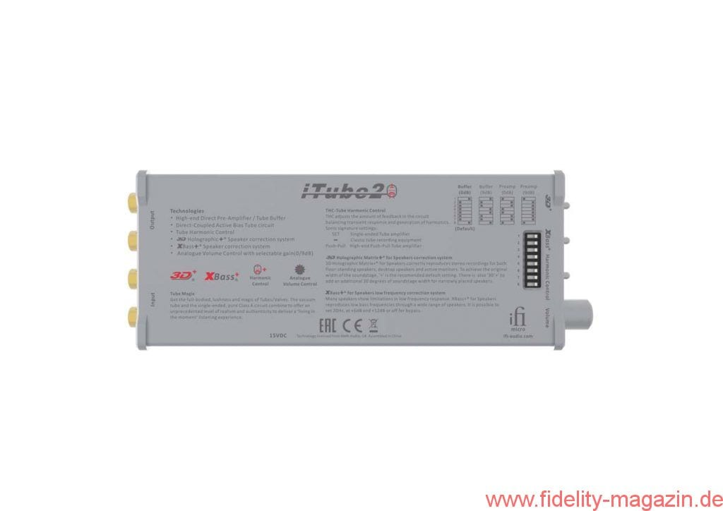 iFi Micro iTube2 Vorverstärker-Pufferverstärker
