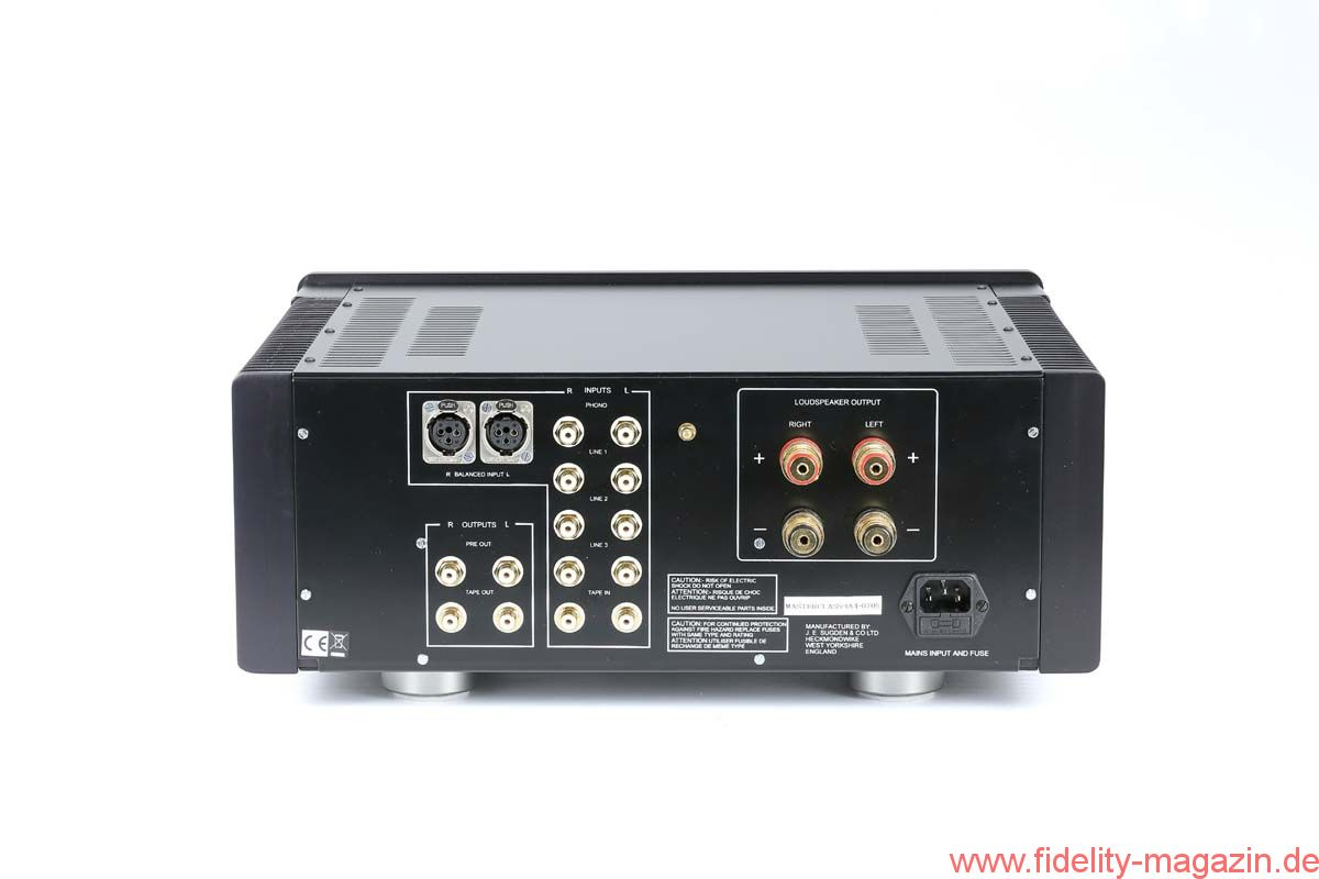 English Sugden Audio Ia 4 Integrated Amplifier Fidelity Online