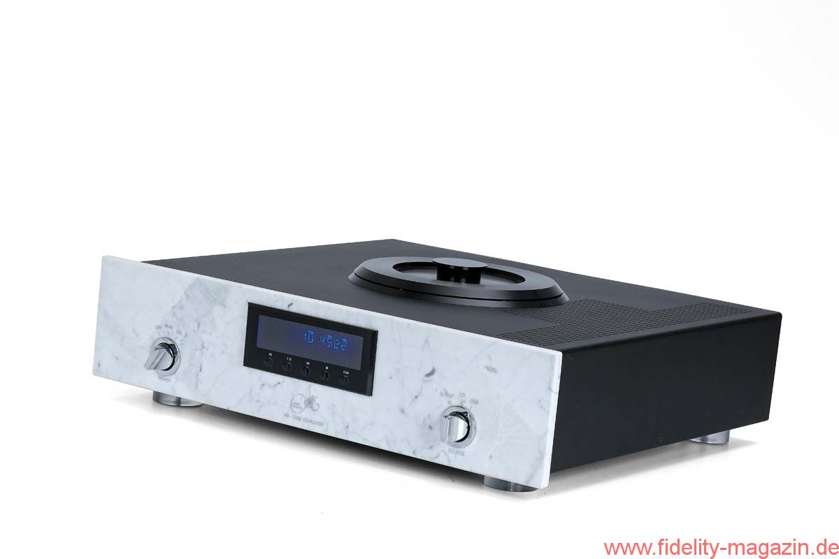 test audio exklusiv p8 r hren cd player fidelity online. Black Bedroom Furniture Sets. Home Design Ideas