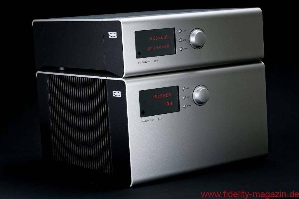 Test Soulution 511 + 560 Endverstärker + DAC-Preamp - FIDELITY online