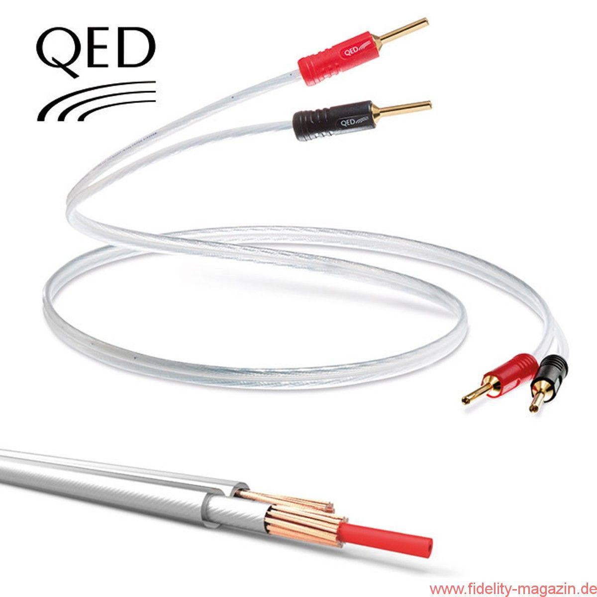QED präsentiert Hi Tech-Lautsprecherkabel Performance XT25 ...