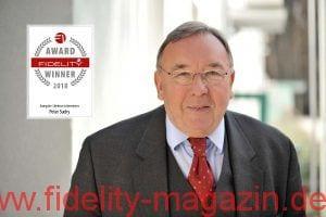 FIDELITY Lifetime Achievement Award 2018 Peter Suchy