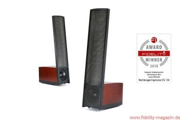 FIDELITY Award Winner 2018 Martin Logan Expression ESL 13A