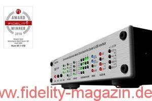 FIDELITY Award Winner 2018 Mutec MC-3+USB