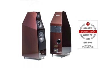 FIDELITY Award Winner 2018 Wilson Audio Yvette