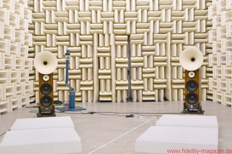 Avantgarde Acoustic UNO XD im Messraum
