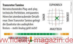 Transrotor Tamino Tonabnehmer Navigator