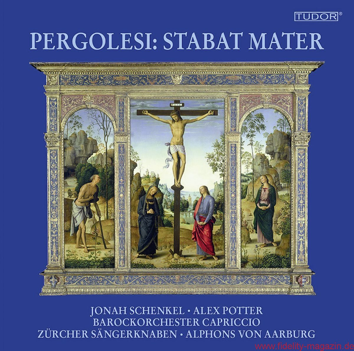 Zürcher Knabenchor, Alphons von Aarburg u. a.: Giovanni Battista Pergolesi – Stabat Mater