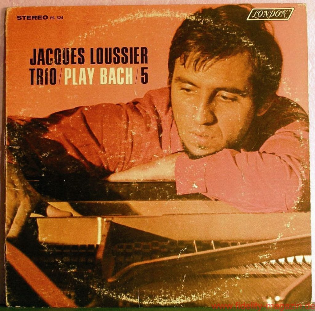 Jacques Loussier Trio: Play Bach 5