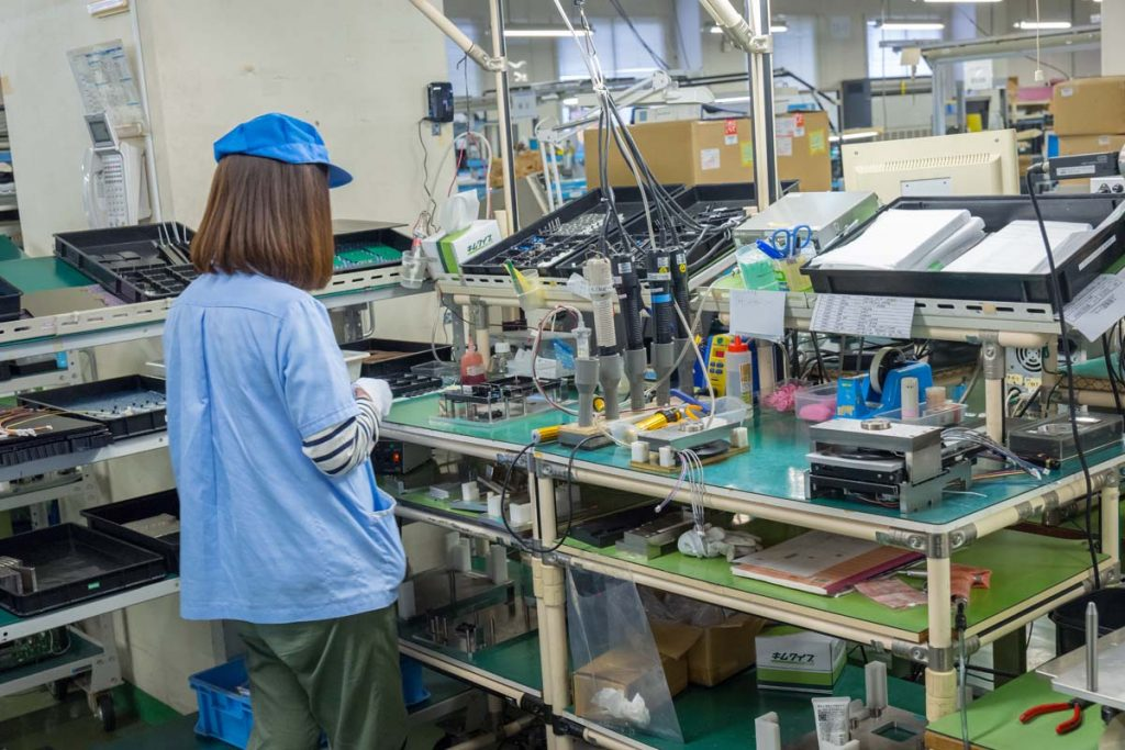 TEAC ESOTERIC Manufacturing Services, TMS, Tokyo, Japan