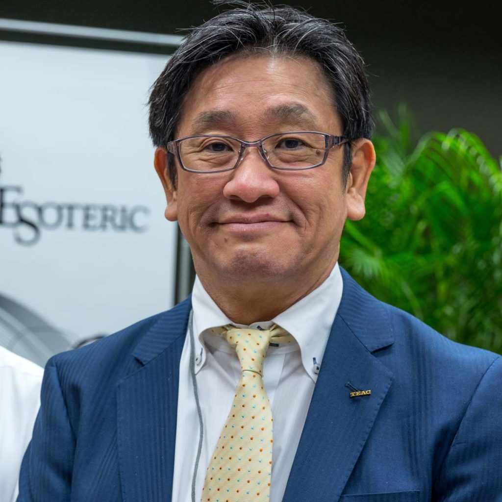 Hiroshi Oshima, CEO TEAC Corporation, ESOTERIC, Tokyo, Japan