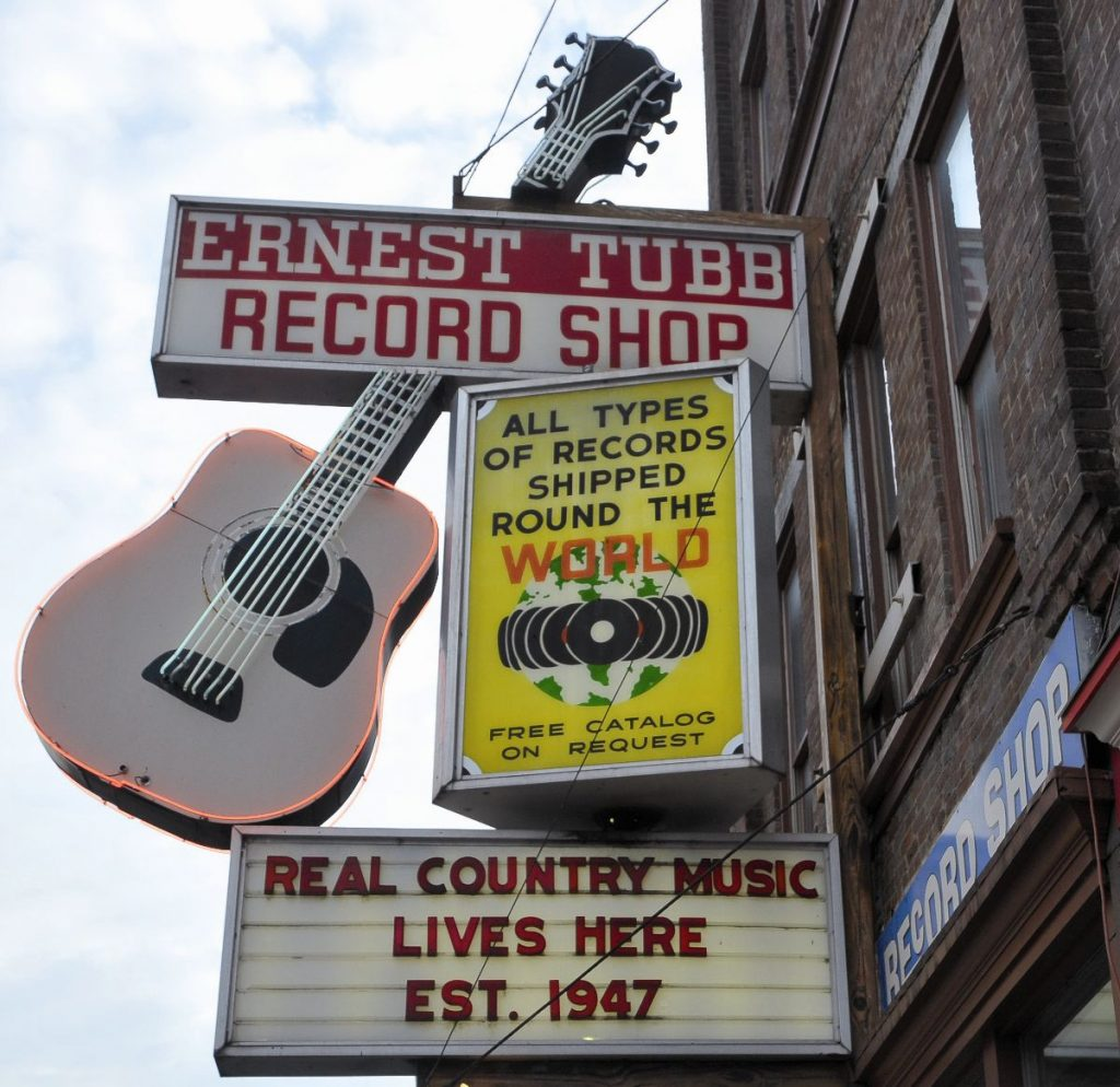 NASHVILLE record shop