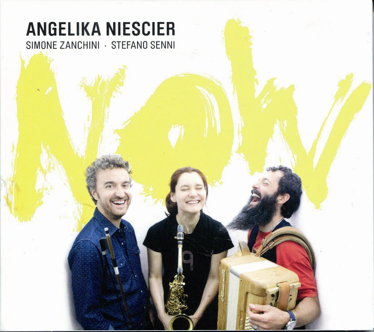 Angelika Niescier – Now