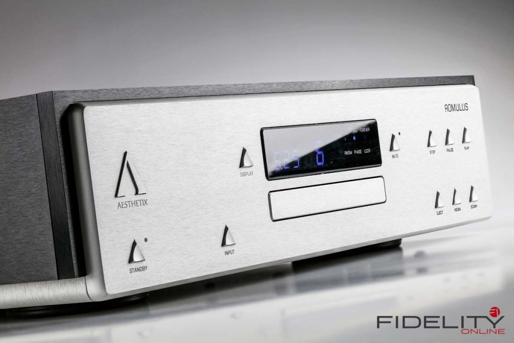 Aesthetix Romulus Eclipse CD-Player