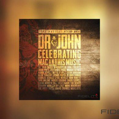 Dr. John Celebrating Mac and his Music