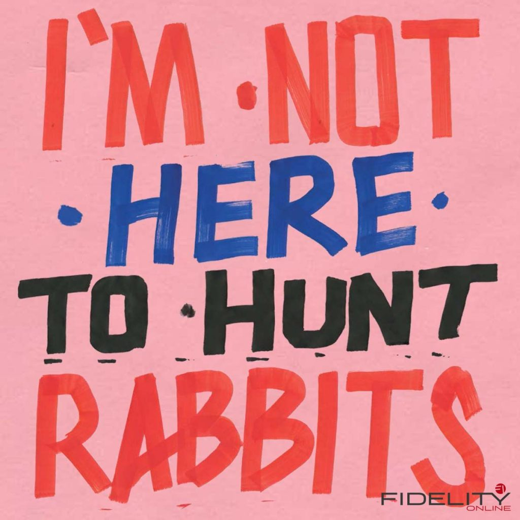 Various Artists I'm Not Here To Hunt Rabbits Label: The Vital Record/Piranha Format: LP, DL 16/44,1