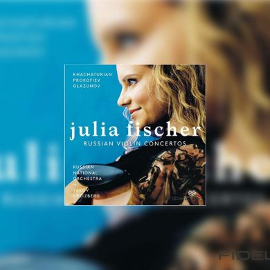 Classidelity - Russian Violin Concertos, Julia Fischer