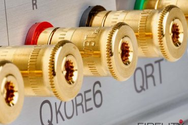 Nordost Netzleiste QBase QB.2 und Erdungspunkt QKore6