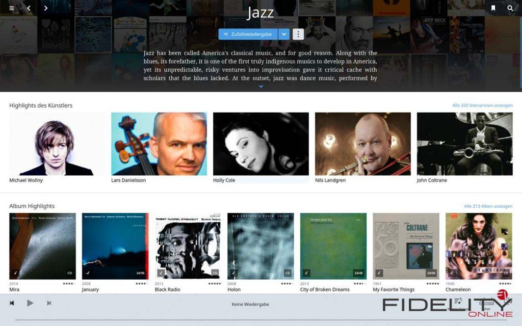Roon Jazz