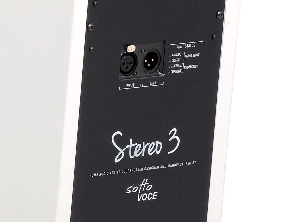 Sotto Voce Stereo 3 Aktivlautsprecher