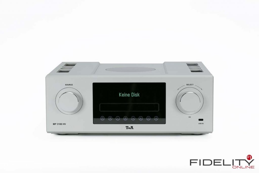 T+A MP 3100 HV Digitaler Multisource-SACD-Player mit USB DAC, Netzwerk Funktionalität, Bluetooth-Streamingmodul und FM-Tuner