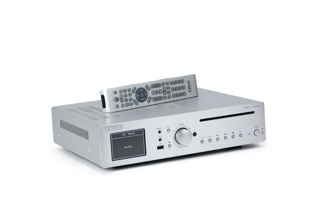 Block CVR 10 CD-Netzwerk-Receiver (4)