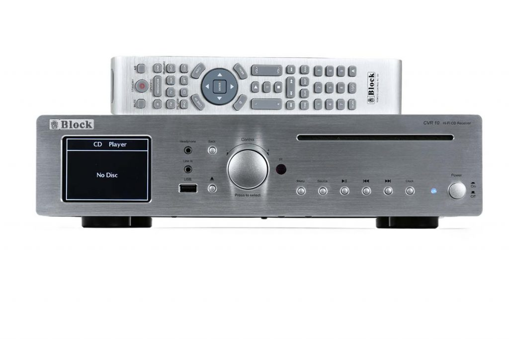 Block CVR 10 CD-Netzwerk-Receiver (6)