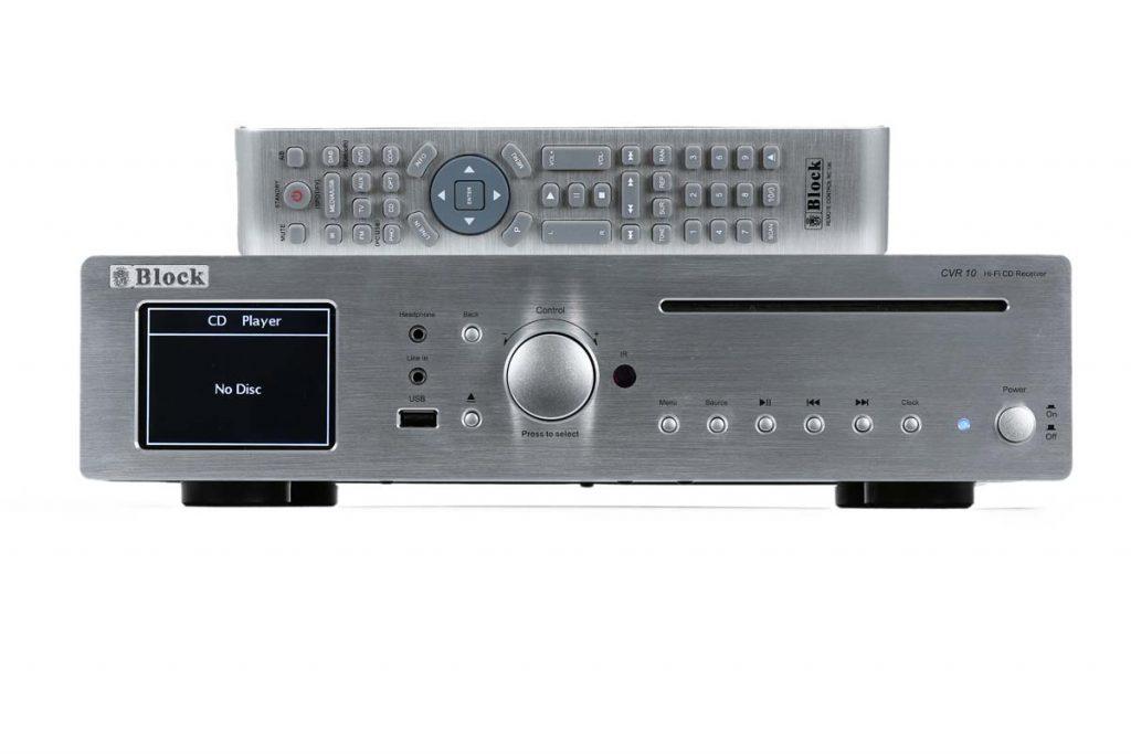 Block CVR 10 CD-Netzwerk-Receiver