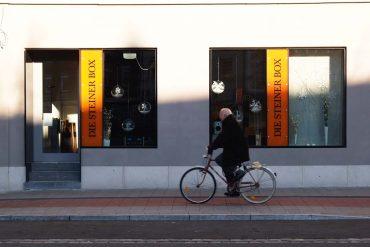 Die Steiner Box, Erlangen und Nürnberg Atmospäre außen