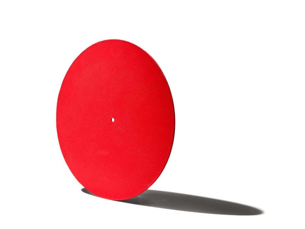 Levin Design Plattentellerauflage Rot (1)