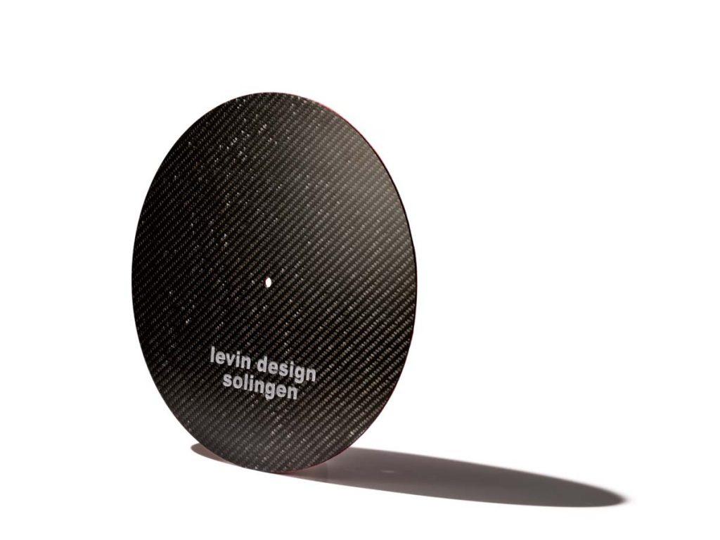 Levin Design Plattentellerauflage Rot (2)