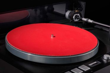 Levin Design Plattentellerauflage Rot