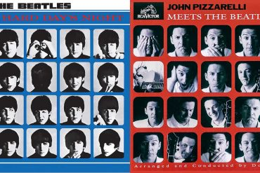Album-Doppel Beatles Pizzarelli