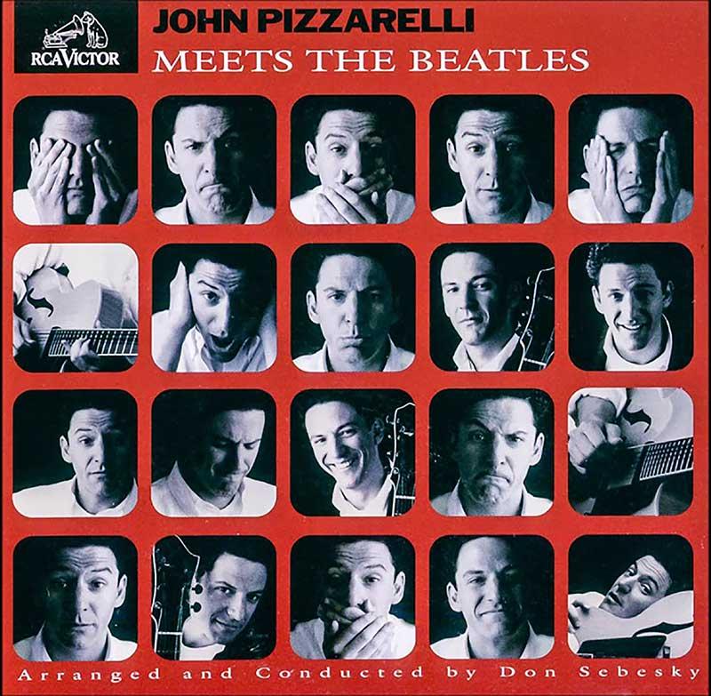 Album-Doppel Beatles Pizzarelli
