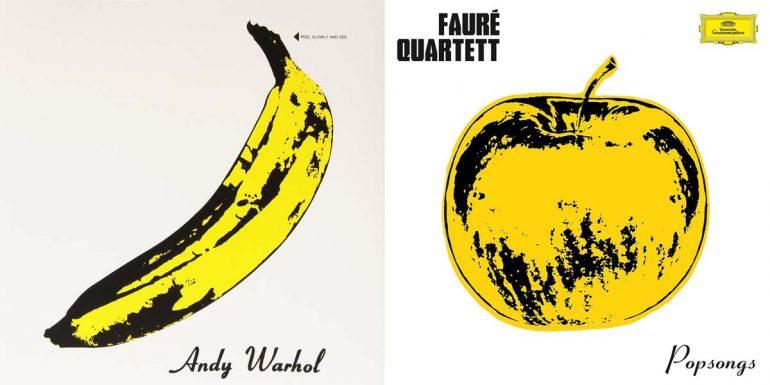 Album-Doppel The Velvet Underground und Faure Quartett