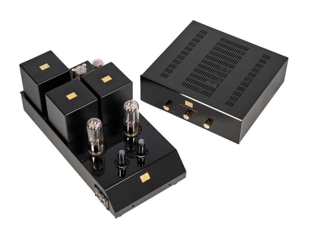 Audio Note Tomei Kensai Endverstärker und M6 Balanced Vorverstärker