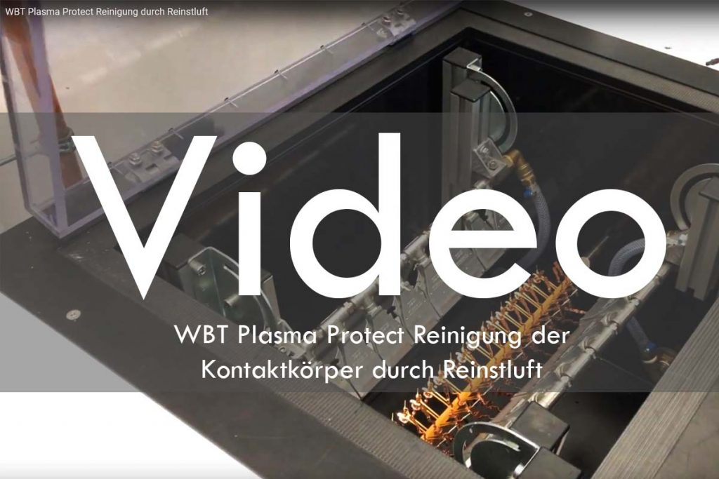 WBT Plasma Protect Reinigung durch Reinstluft Video