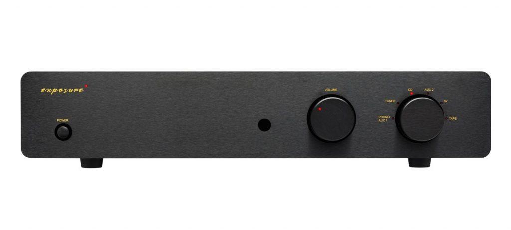 Exposute 2510 Integrated Amplifier Black Front