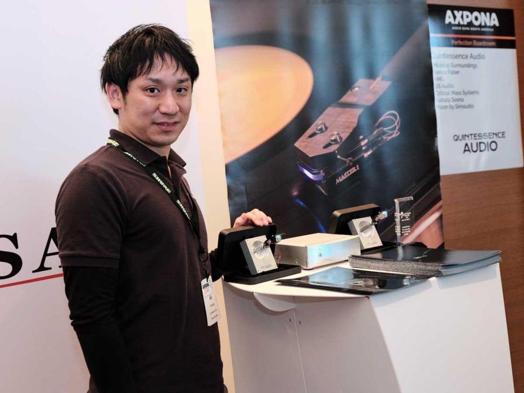 Tetsuaki Aoyagi von DS Audio aus Japan