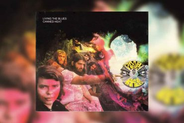 Longtrack Canned Heat Living The Blues Albumcover