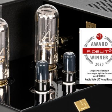 FIDELITY Award 2020 Audio Note Tomei Kensei
