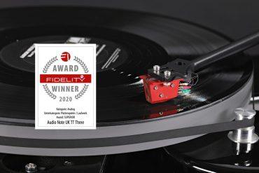 FIDELITY Award 2020 Audio Note TT3 Plattenspieler