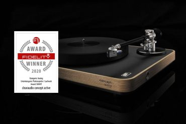 FIDELITY Award 2020 Clearaudio Concept Active