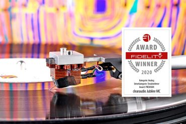 FIDELITY Award 2020 Clearaudio Jubilee MC