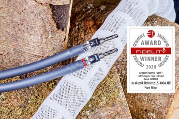 FIDELITY Award 2020 in-akustik Referenz LS-4004 Air Pure Silver