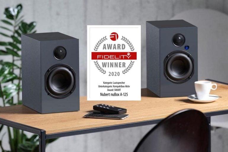 FIDELITY Award 2020 Nubert nuBox A-125