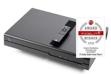 FIDELITY Award 2020 PS Audio Stellar Power Plant 3