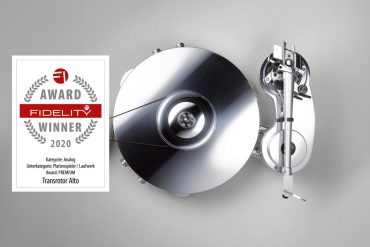 FIDELITY Award 2020 Transrotor Alto